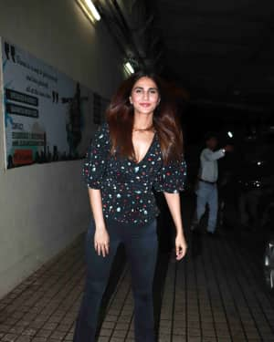 Vaani Kapoor - Photos: Screening of Film Stree