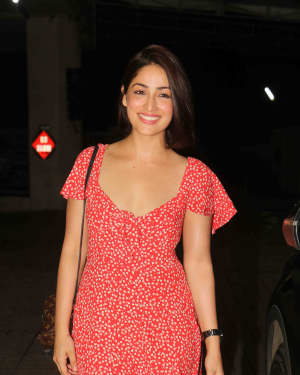 Yami Gautam - Photos: Screening of Film Stree