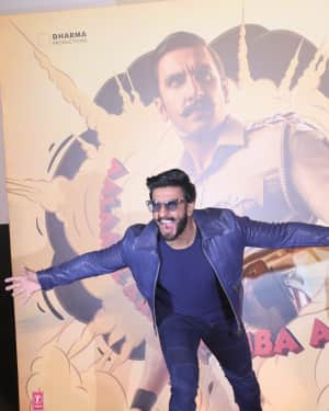 Ranveer Singh - Photos: Trailer Launch of film Simmba at PVR icon