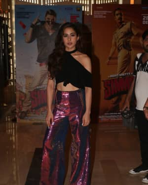 Sara Ali Khan - Photos: Trailer Launch of film Simmba at PVR icon