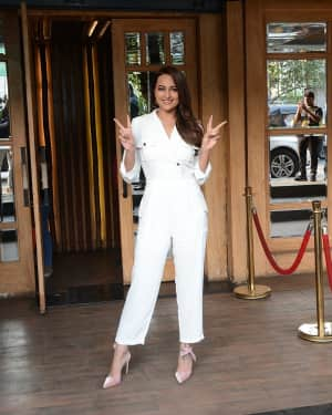 Photos: Sonakshi Sinha Spotted At Hoot In Juhu