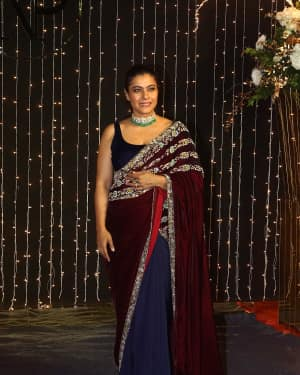 Kajol - Photos: Celebs at Priyanka & Nick Jones Wedding Reception