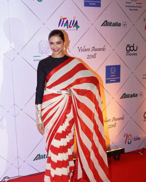 Deepika Padukone - Photos: Red Carpet Of Volare Awards 2018