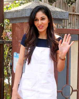 Photos: Actress Pooja Chopra Spotted at Bandra | Picture 1567483
