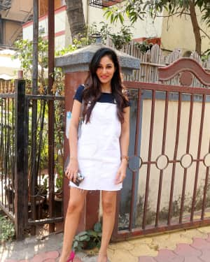 Photos: Actress Pooja Chopra Spotted at Bandra | Picture 1567489
