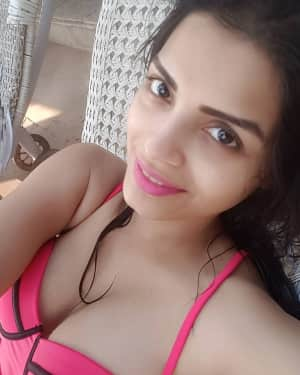 Actress Sonali Raut Poolside Photos