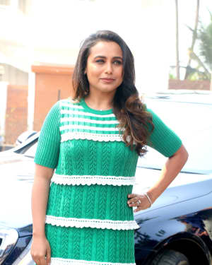 Photos: Rani Mukerji At Hindi Film Hichki Song Launch Oye Hichki