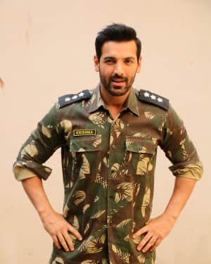 John Abraham - Photos: The Promotional Shoot For The Film Parmanu