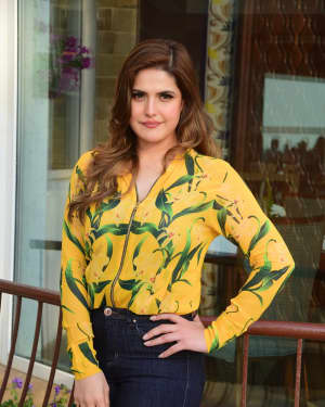 Zareen Khan - Photos: Interview with Zareen Khan and Karan Kundra for film 1921
