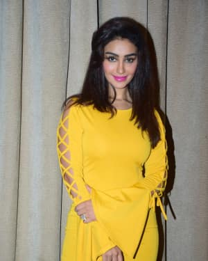 Mahek Chahal - Photos: Media interactions with the cast of Nirdosh at JW Marriott
