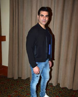 Arbaaz Khan - Photos: Media interactions with the cast of Nirdosh at JW Marriott