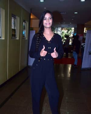 Photos: Actress Poonam Pandey at Inter-School Dance Competition