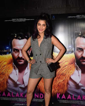 Shruti Haasan - Photos: Special Screening Of Film Kaalakaandi