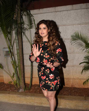 Zareen Khan - Photos: Special Screening Of 1921 | Picture 1558707