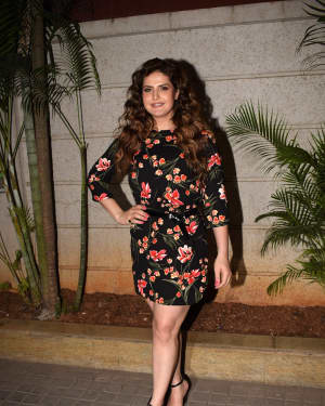 Zareen Khan - Photos: Special Screening Of 1921 | Picture 1558703