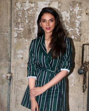 Aditi Rao Hydari - Photoshoot of starcast of film dassdev at filmistan studio
