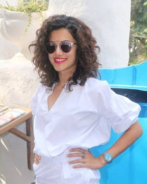 Taapsee Pannu - Photos: Brunch Hosted By Kanta Motwani To Celebrate 17 Years Of Her Salon Kromakay