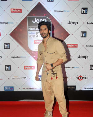 Varun Dhawan - Photos: Red Carpet Of Ht Most Stylish Awards 2018