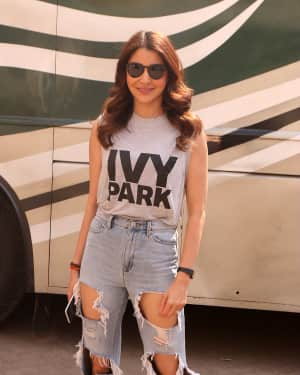 Photos: Anushka Sharma Shooting for a Brand Campaign at Mehboob Studio