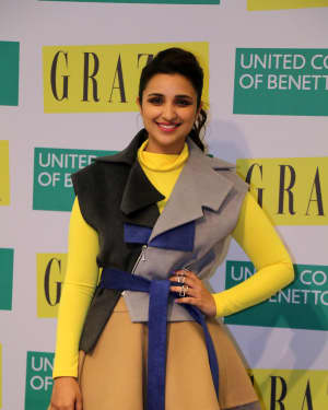 Photos: Parineeti Chopra Launches Grazia Cover