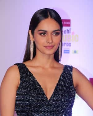 Manushi Chhillar - Photos: Red Carpet Of 10th Mirchi Music Awards 2018