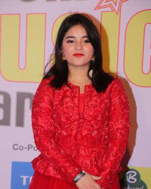 Zaira Wasim - Photos: Red Carpet Of 10th Mirchi Music Awards 2018