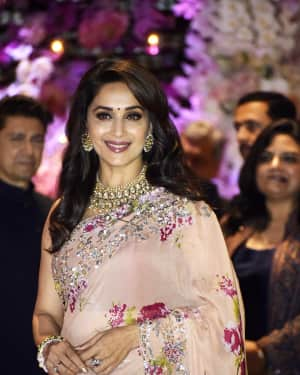 Madhuri Dixit - Photos: Akash Ambani & Shloka Mehta engagement at Antilia