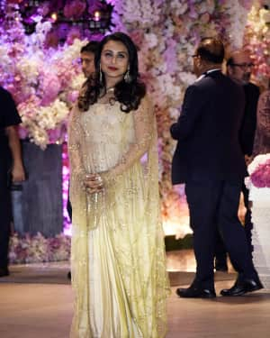 Rani Mukerji - Photos: Akash Ambani & Shloka Mehta engagement at Antilia