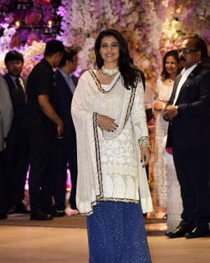 Kajol - Photos: Akash Ambani & Shloka Mehta engagement at Antilia