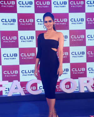 Photos: Manushi Chillar at the launch of Club Factory India's largest e-Commerce Brand