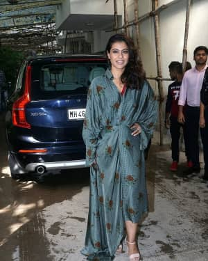 Photos: Kajol attends the screening of Incredibles 2 at Sunny Sound