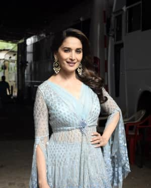 Photos: Madhuri Dixit on the sets of Colors dance reality show Dance Deewane