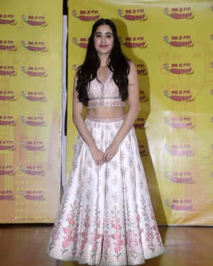Jahnavi Kapoor - Photos: Launch of Zingaat song from film Dhadak at Radio Mirchi