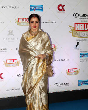 Rekha - Photos: Hello Hall of Fame Awards 2018 at St. Regis In Mumbai