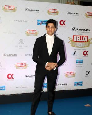 Sidharth Malhotra - Photos: Hello Hall of Fame Awards 2018 at St. Regis In Mumbai