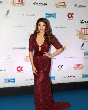 Shama Sikander - Photos: Hello Hall of Fame Awards 2018 at St. Regis In Mumbai