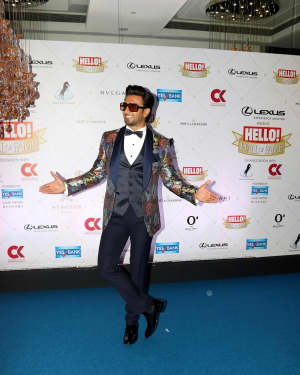 Ranveer Singh - Photos: Hello Hall of Fame Awards 2018 at St. Regis In Mumbai
