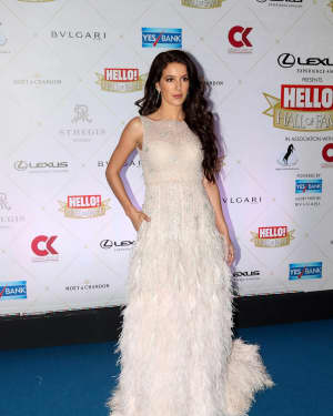 Isabelle Kaif - Photos: Hello Hall of Fame Awards 2018 at St. Regis In Mumbai