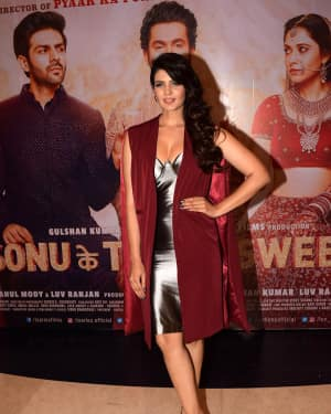 Ihana Dhillon - Photos: Success Party Of Film Sonu Ke Titu Ki Sweety