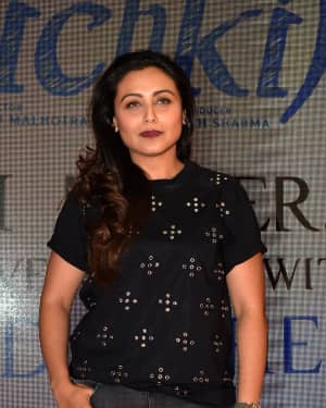 Photos: Rani Mukerji To Introduce Brad Cohen The Real Inspiration Behind Hichki