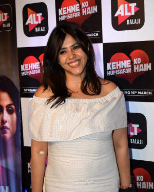 Ekta Kapoor - Photos: Screening of Alt Balaji's Kehne Ko Humsafar Hai