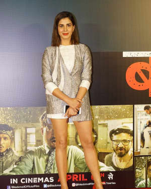 Kirti Kulhari - Photos: 'Blackmail' Team Launch Film's New Song Badla