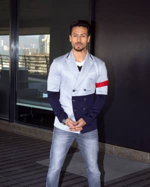 Tiger Shroff - Photos: Baaghi 2 Promotions at Nadiadwala Office