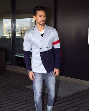 Tiger Shroff - Photos: Baaghi 2 Promotions at Nadiadwala Office | Picture 1573201