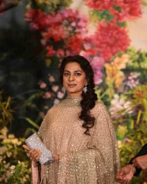 Juhi Chawla - Photos: Sonam Kapoor and Anand Ahuja Wedding Reception | Picture 1581707