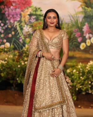 Rani Mukerji - Photos: Sonam Kapoor and Anand Ahuja Wedding Reception