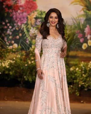 Madhuri Dixit - Photos: Sonam Kapoor and Anand Ahuja Wedding Reception