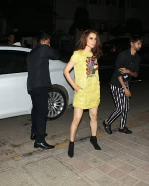 Photos: Kangana Ranaut attends the red carpet event of Architectural Digest of India