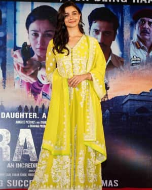 Alia Bhatt - Photos: Sucess party of film Raazi