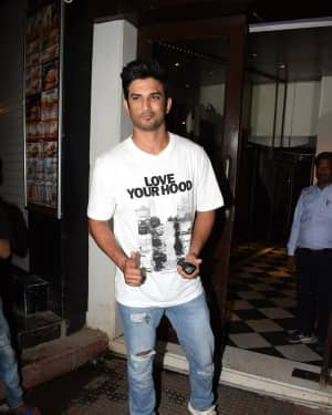 Sushant Singh Rajput - Photos: Wrap Up party of film Stree at Bastian